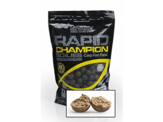 Boilies Mivardi Rapid Champion Platinum Crazy Liver 950 g
