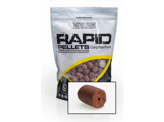 Mivardi pelety Rapid Extreme Robin Red 1 kg
