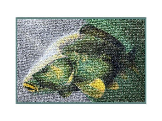 Delphin rohožka 3D Kapr - 60 x 40 cm