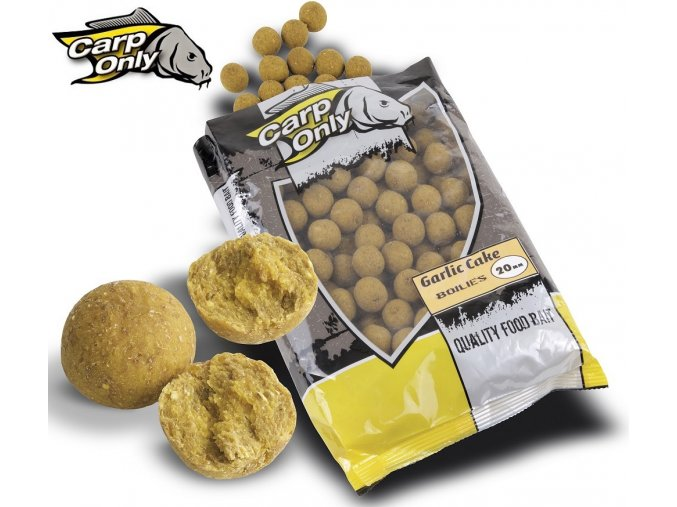 Boilies Carp Only Garlic Cake 1 kg