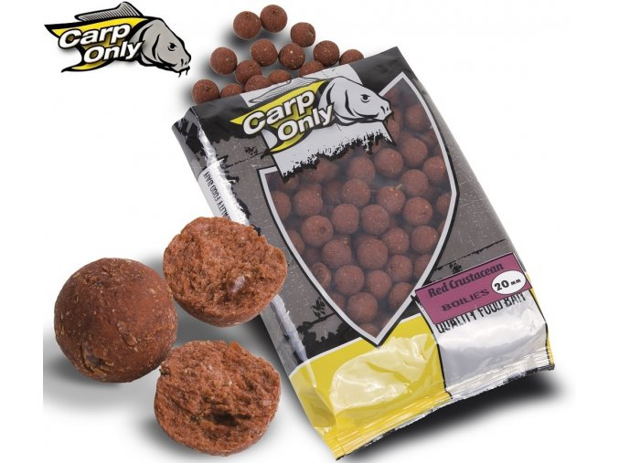 Boilies Carp Only Red Crustacean 1 kg