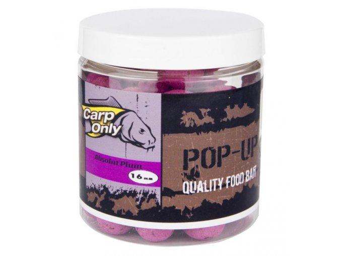 Plovoucí boilies Carp Only Pop Up Absolut Plum 80 g