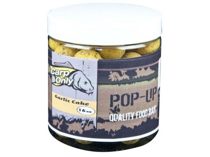 Plovoucí boilies Carp Only Pop Up Garlic Cake 80 g