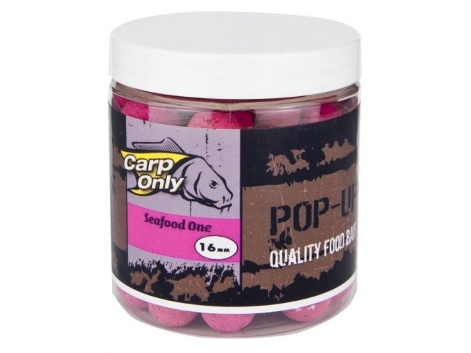 Plovoucí boilies Carp Only Pop Up Sea Food One 80 g
