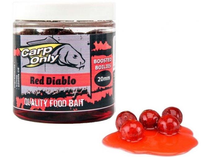 Boilies v dipu Carp Only Red Diablo 250 ml