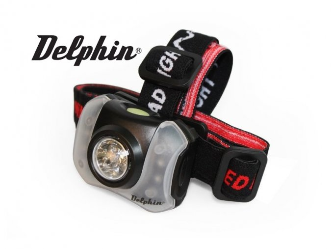 Čelová svítilna Delphin Polar X 9LED