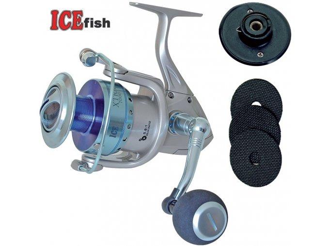 Naviják ICE Fish XTRA 7000