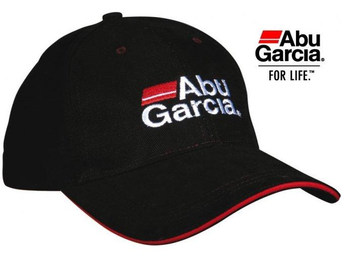 Abu Garcia čepice kšiltovka černá