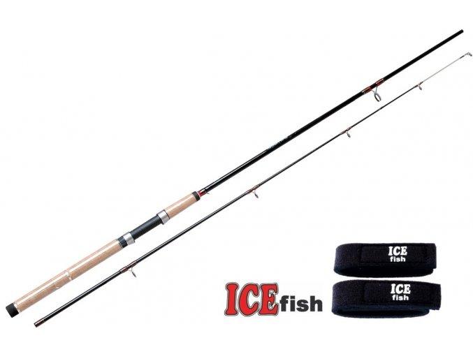 Prut ICE Fish Spinfighter 210, 240, 255, 270, 300 + neoprenové pásky