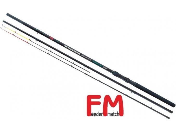 Prut Feeder Match Feeder Magnum Black 330, 360