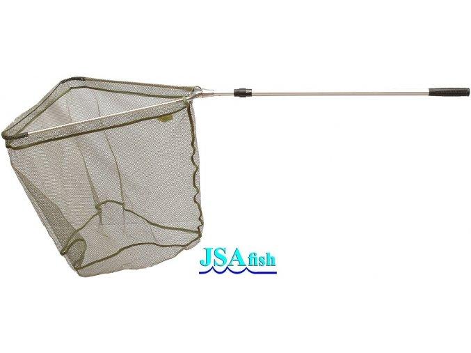 Podběrák JSA Fish ALU 2 s pogumovanou síťkou 145 cm/60 x 60 cm