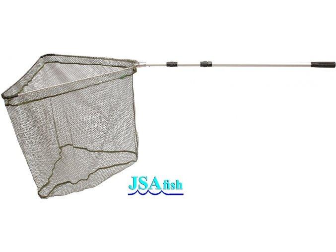 Podběrák JSA Fish ALU 3 s pogumovanou síťkou 210 cm/70 x 70 cm