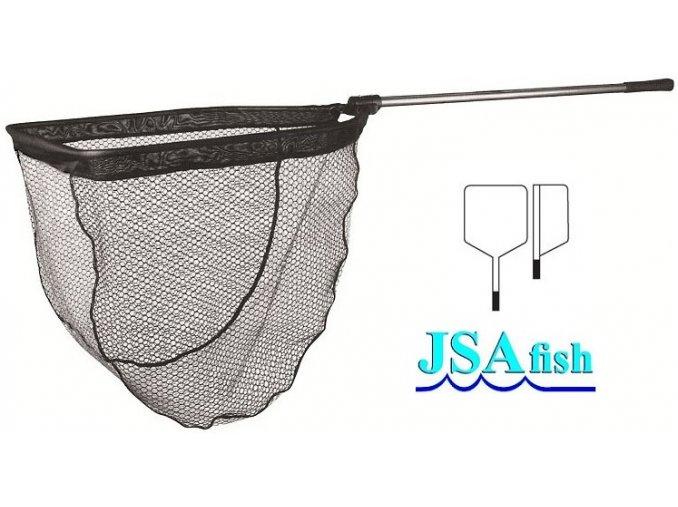 Podběrák JSA Fish Boat 180 cm/60 x 70 cm