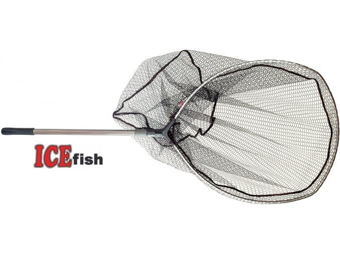 Podběrák ICE Fish sklopka 160 cm/80 x 70 cm