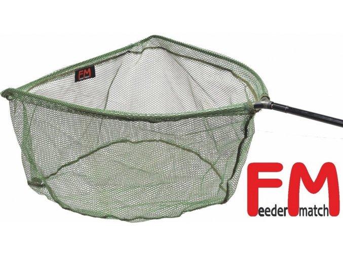 Podběráková hlava FM1 s pogumovanou síťkou 38 x 44 cm