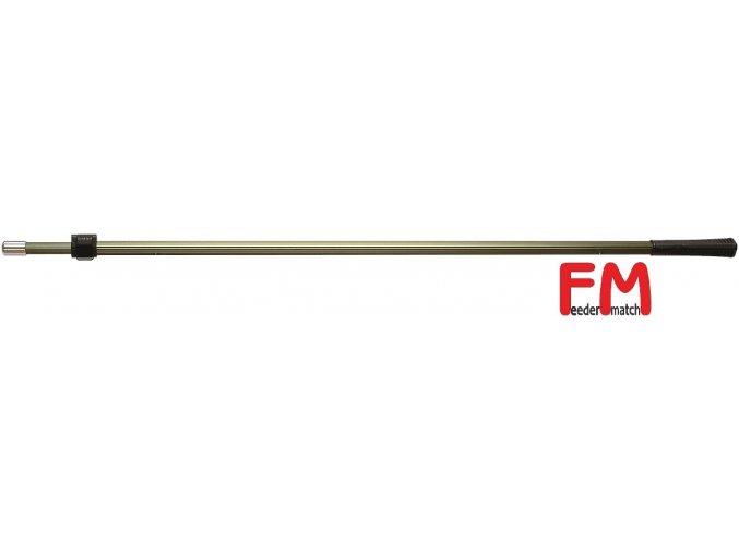 Podběráková tyč FM zelená ALU 200 cm/2 díly