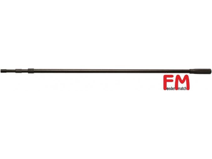 Podběráková tyč FM černá ALU 300 cm/3 díly