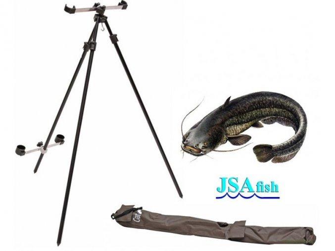 Stojan na sumcové pruty JSA Fish trojnožka CAT
