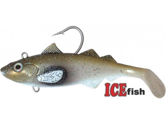 Umělá nástraha na moře ICE Fish HYSE Jednoskvrnka GW 22 cm/425 g