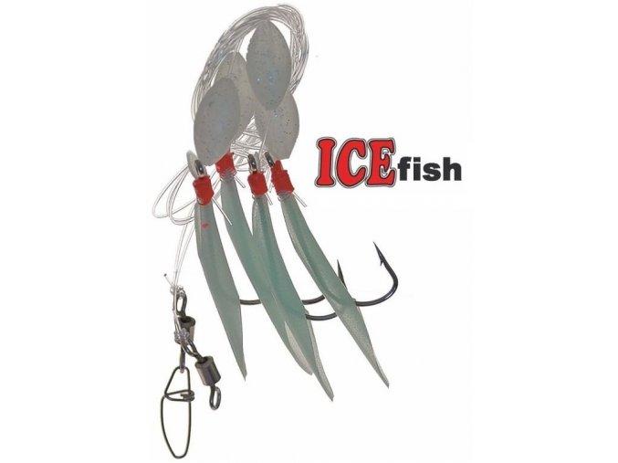 Návazec pro mořský rybolov ICE Fish trubičky B