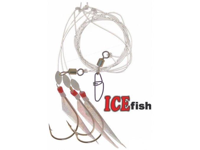 Návazec pro mořský rybolov ICE Fish Skin