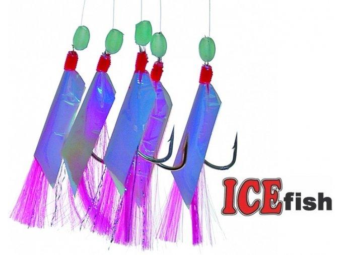 Návazec pro mořský rybolov ICE Fish fólie B