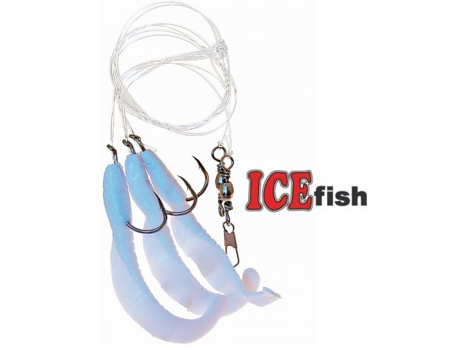 Návazec pro mořský rybolov ICE Fish úhořík B