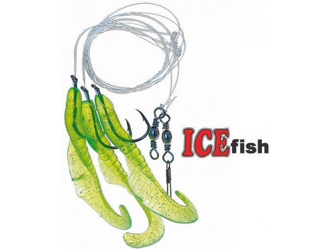 Návazec pro mořský rybolov ICE Fish úhořík C
