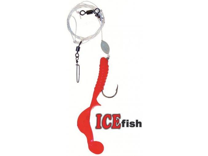 Návazec pro mořský rybolov ICE Fish twistr A 11 cm