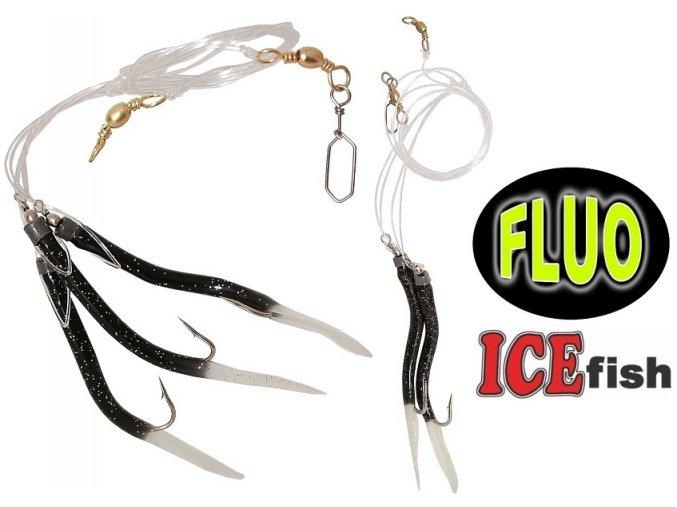 Návazec pro mořský rybolov ICE Fish trubičky BF