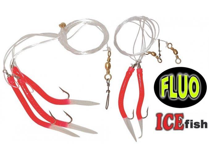 Návazec pro mořský rybolov ICE Fish trubičky RF