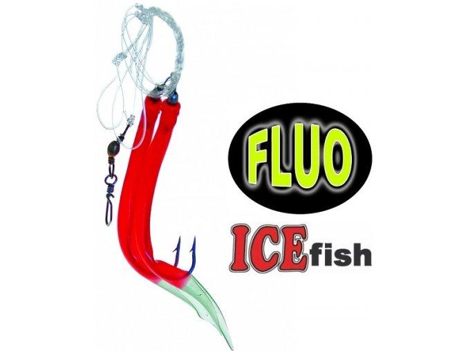 Návazec pro mořský rybolov ICE Fish trubičky DUO A