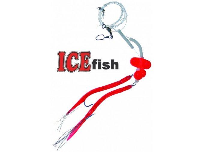 Návazec pro mořský rybolov ICE Fish trubičky zvukové A