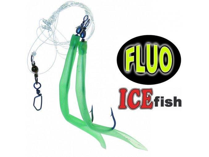 Návazec pro mořský rybolov ICE Fish trubičky DUO B