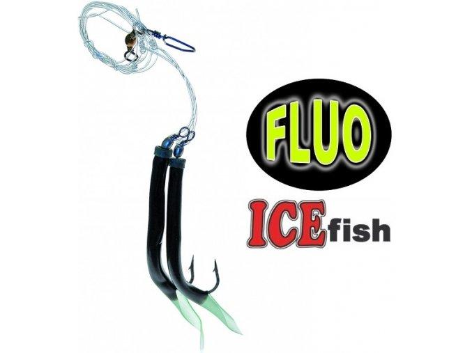 Návazec pro mořský rybolov ICE Fish trubičky DUO C