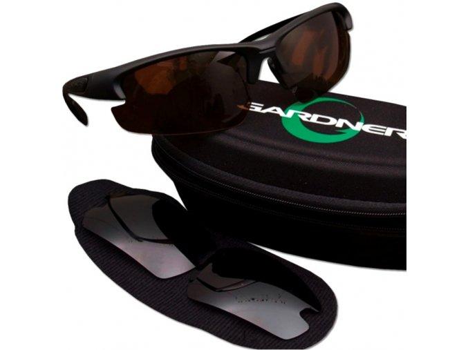 Gardner polarizační brýle Hi Lo Polarised Sunglasses