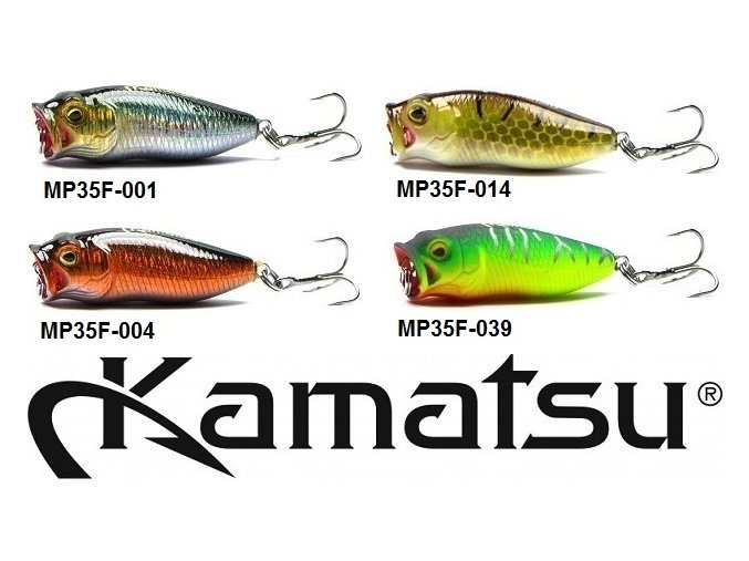 Wobler Kamatsu Master Pop MP 35 F