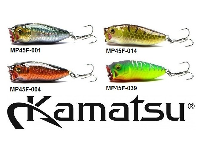 Wobler Kamatsu Master Pop MP 45 F