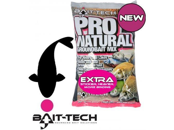 Bait-Tech krmítková směs Pro Natural Groundbait Mix Extra - 1,5 kg