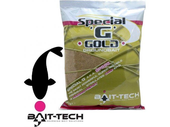Bait-Tech krmítková směs Special G Gold Groundbait - 1 kg