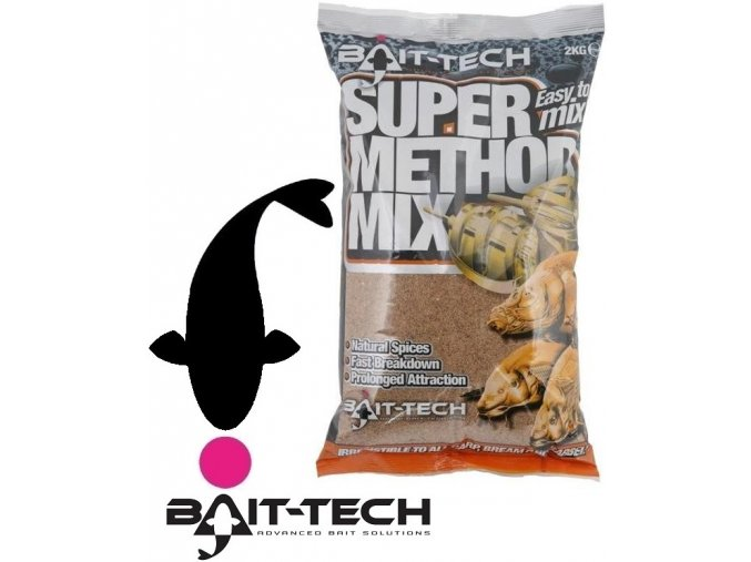 Bait-Tech krmítková směs Super Method Mix - 2 kg