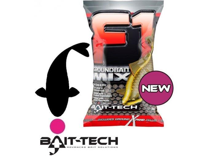 Bait-Tech krmítková směs F1 Groundbait Mix - 2 kg