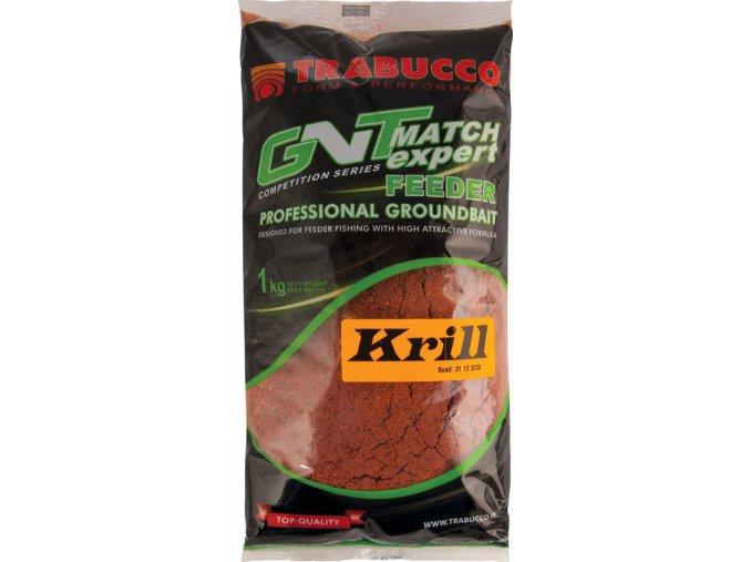 Trabucco krmítková směs GNT Match Expert Feeder Professional Groundbait Krill - 1 kg