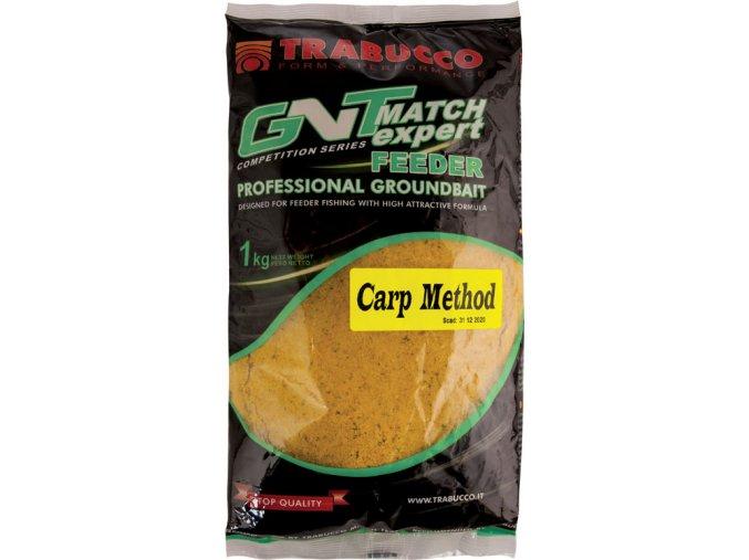 Trabucco krmítková směs GNT Match Expert Feeder Professional Groundbait Carp Method - 1 kg