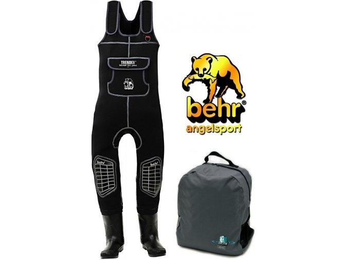 Behr neoprenové brodící kalhoty TRENDEX SEAM TEC plus