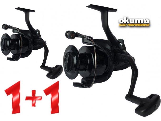 Naviják Okuma Custom Black CBBF-355 - AKCE 1+1