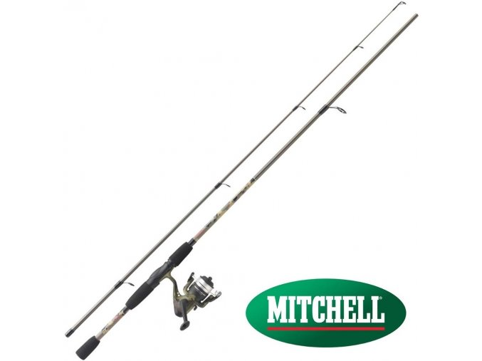 Prut Mitchell Tanager Camo Spin 1,80 m/5-15 g + naviják 20 FD