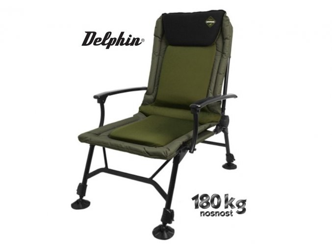 Rybářské křeslo Delphin Grand