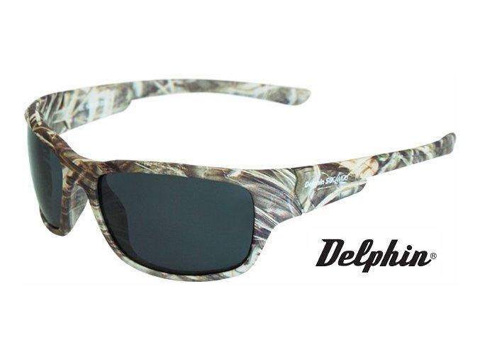 Plovoucí polarizační brýle Delphin SG Camou
