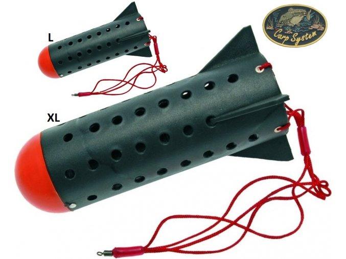 Carp System zakrmovací raketa